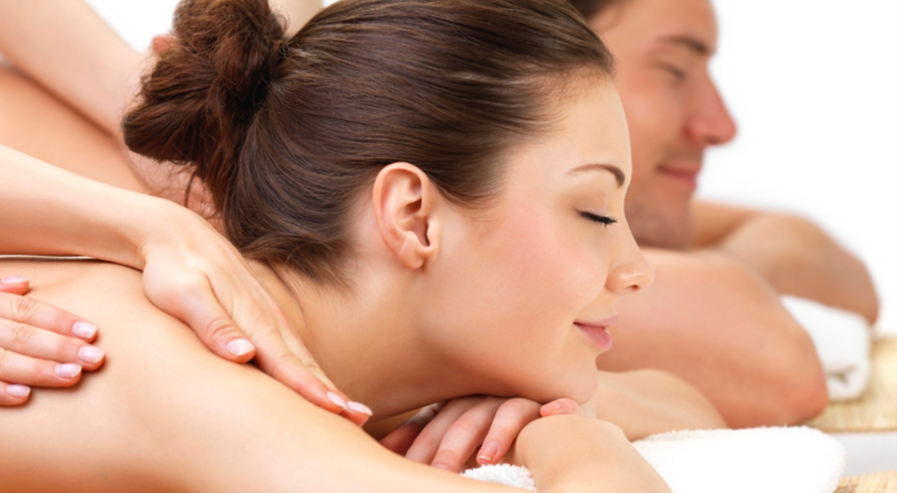 Relaxing couple massages